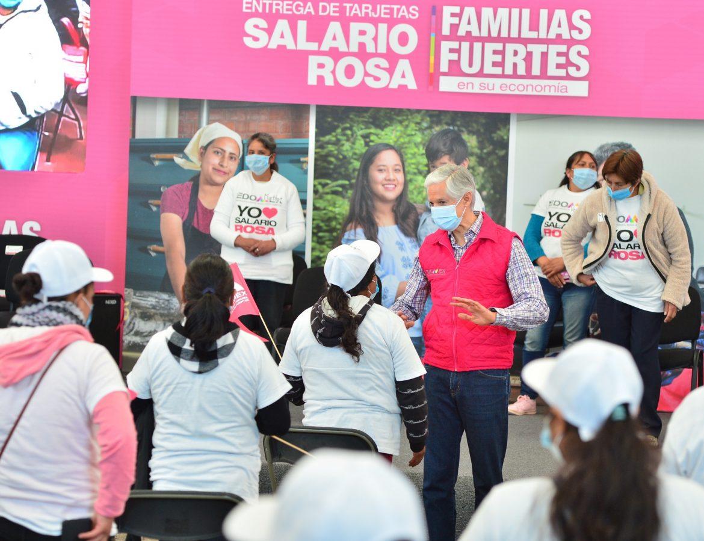 EL SALARIO ROSA NO SE DETIENE Y BENEFICIA A MÁS DE 282 MIL AMAS DE CASA: ALFREDO DEL MAZO