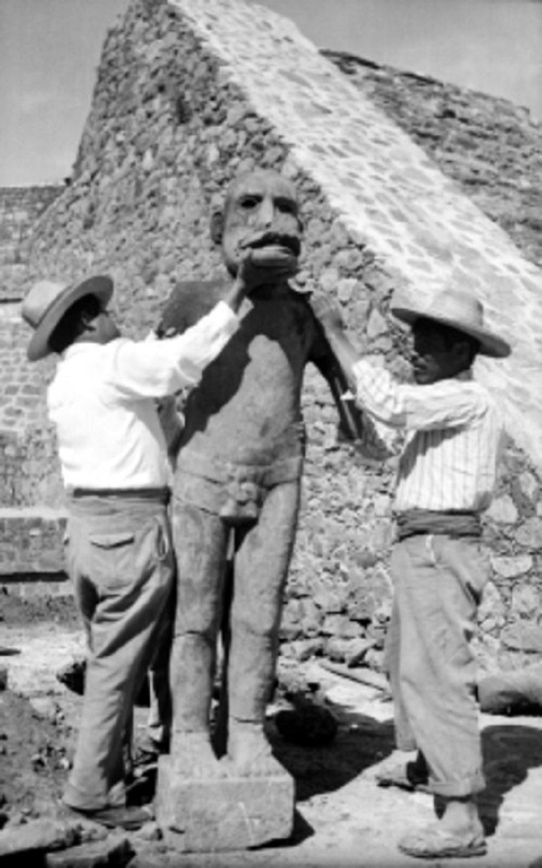 """ES """"EHÉCATL DE CALIXTLAHUACA"""" PIEZA ICÓNICA DE LA CULTURA MEXICA EN EL VALLE DE TOLUCA"""
