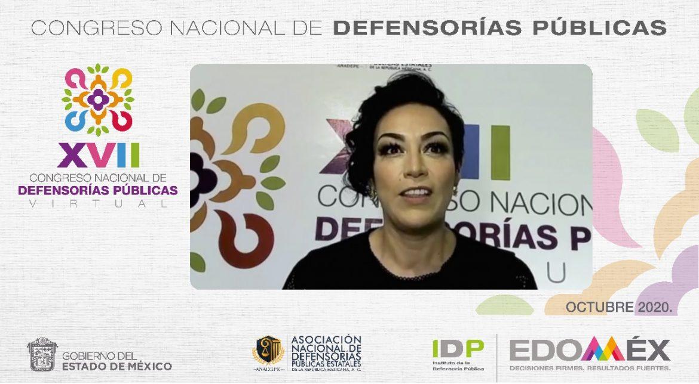 CONCLUYE XVII CONGRESO NACIONAL DE DEFENSORÍAS PÚBLICAS VIRTUAL