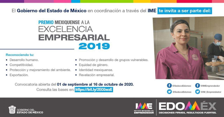 RECONOCE GEM TALENTO MEXIQUENSE CON PREMIO A LA EXCELENCIA EMPRESARIAL