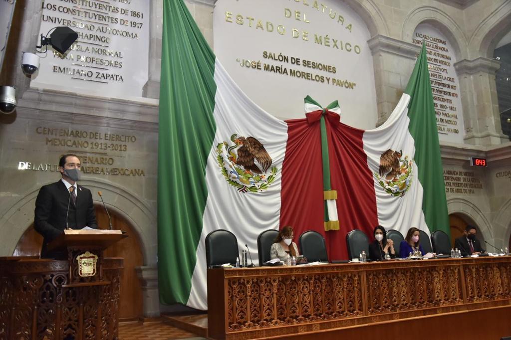 INFORMA SECRETARIO DE SEGURIDAD ACCIONES REALIZADAS PARA DAR MAYOR TRANQUILIDAD A LOS MEXIQUENSES, EN LA TERCERA GLOSA DE GOBIERNO