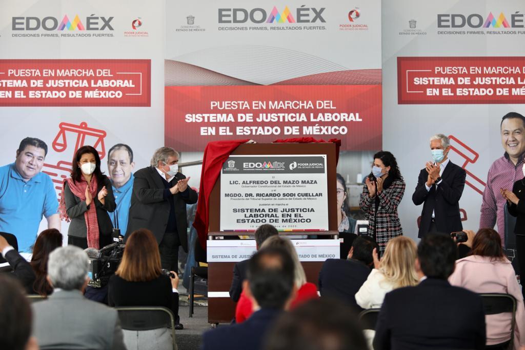 SEÑALA ALFREDO DEL MAZO QUE EDOMÉX RESPALDA LA REFORMA LABORAL PARA FORTALECER EL BIENESTAR, DESARROLLO Y LAS OPORTUNIDADES DE LOS TRABAJADORES