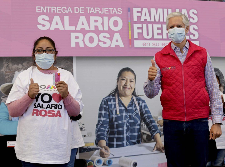 RECIBEN SALARIO ROSA MÁS DE 325 MIL AMAS DE CASA EN APOYO A LA ECONOMÍA FAMILIAR: ALFREDO DEL MAZO