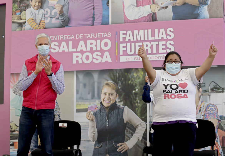 LLEGA SALARIO ROSA A LAS MUJERES MEXIQUENSES QUE MÁS LO NECESITAN Y QUEDA EN LAS MEJORES MANOS: ALFREDO DEL MAZO