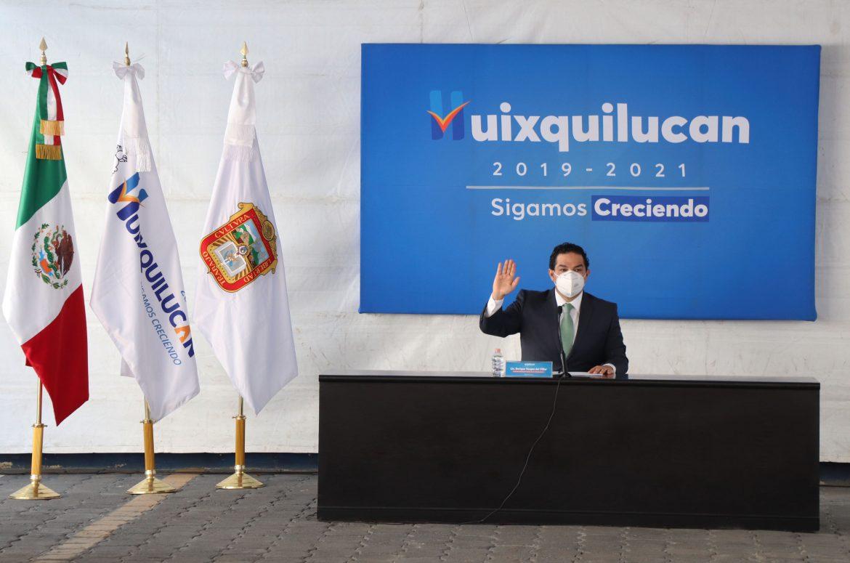 HUIXQUILUCAN CERRARÁ FINANCIERAMENTE BIEN EL 2020