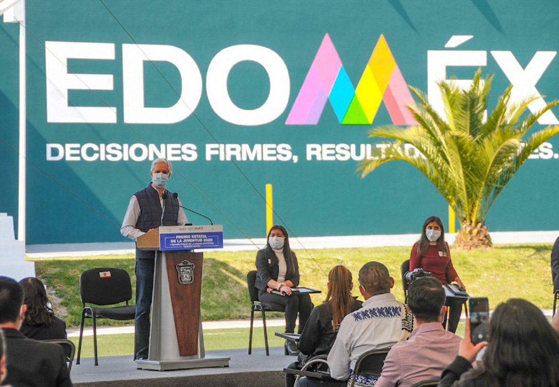 RECONOCE ALFREDO DEL MAZO EL ESFUERZO Y EL TALENTO DE LOS JÓVENES MEXIQUENSES GANADORES DEL PREMIO ESTATAL DE LA JUVENTUD 2020