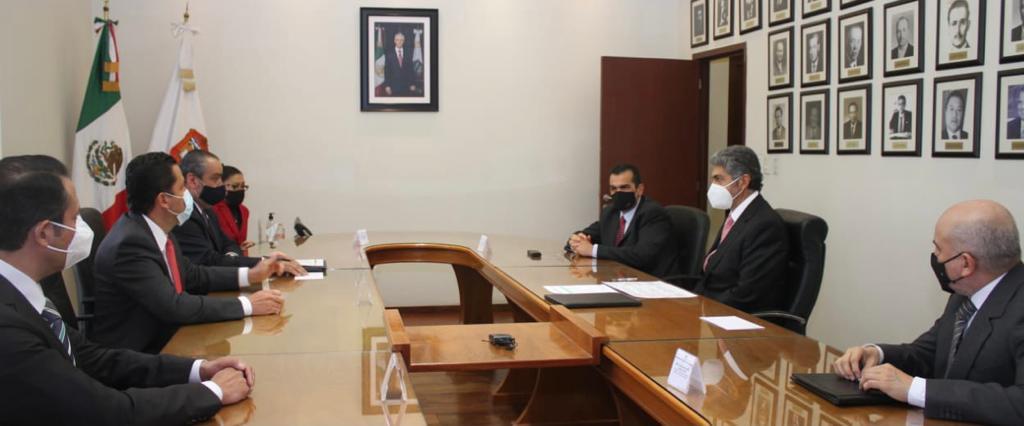 FIRMAN GOBIERNO DEL EDOMÉX E INSTANCIAS ELECTORALES NACIONALES Y LOCALES, CONVENIO RUMBO A LAS ELECCIONES DEL 2021