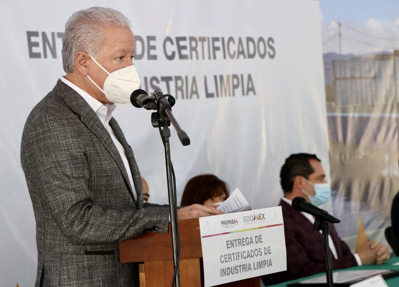 ENTREGA GEM CERTIFICADOS DE LOGRO AMBIENTAL A UNIDADES HOSPITALARIAS DEL EDOMÉX