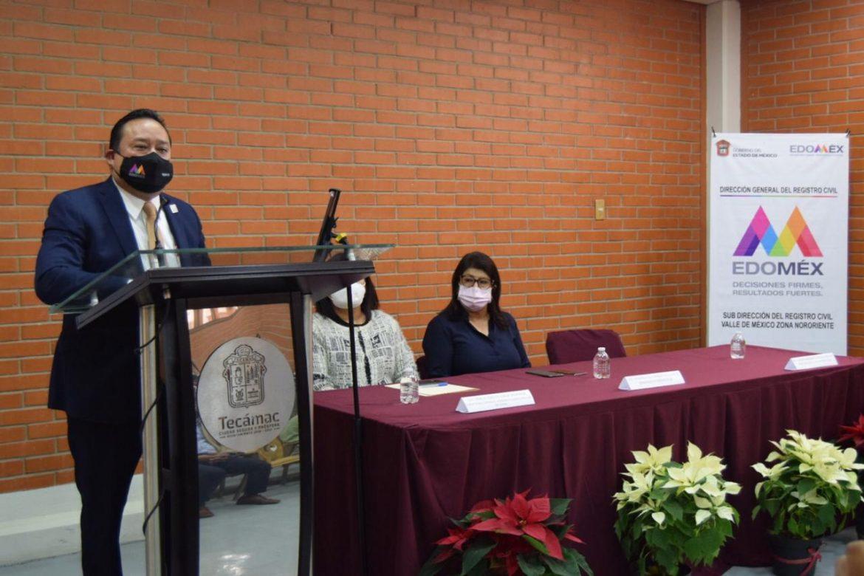 INAUGURAN OFICIALÍA DEL REGISTRO CIVIL EN TECÁMAC