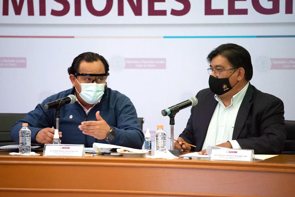 Reanuda Congreso del Estado de México discusión del Paquete Fiscal