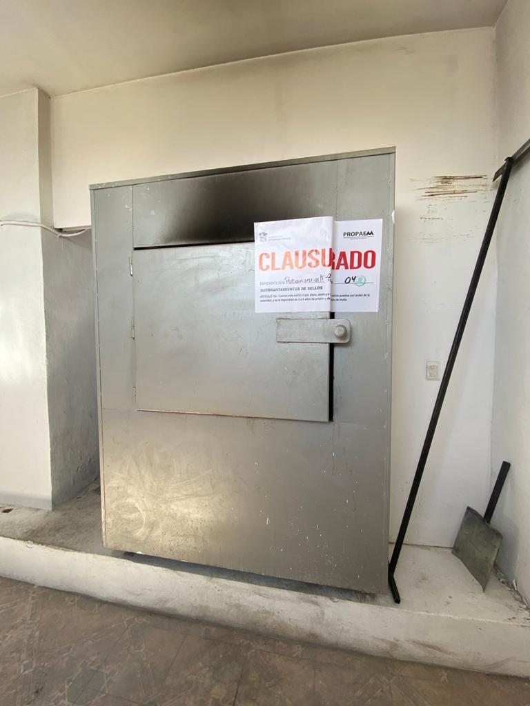 CLAUSURA PROPAEM CREMATORIO EN ATLACOMULCO