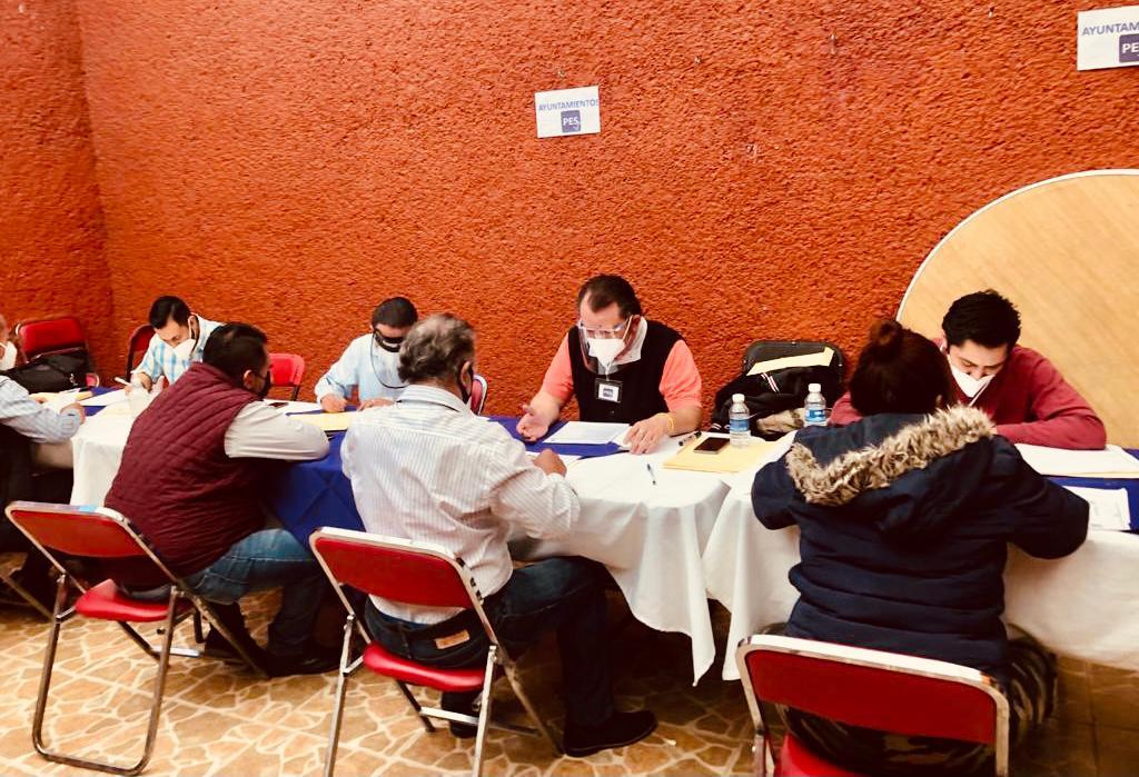 COPIOSA PARTICIPACIÓN EN PROCESO DE SELECCIÓN DE ASPIRANTES A ALCALDES Y DIPUTADOS POR EL PES