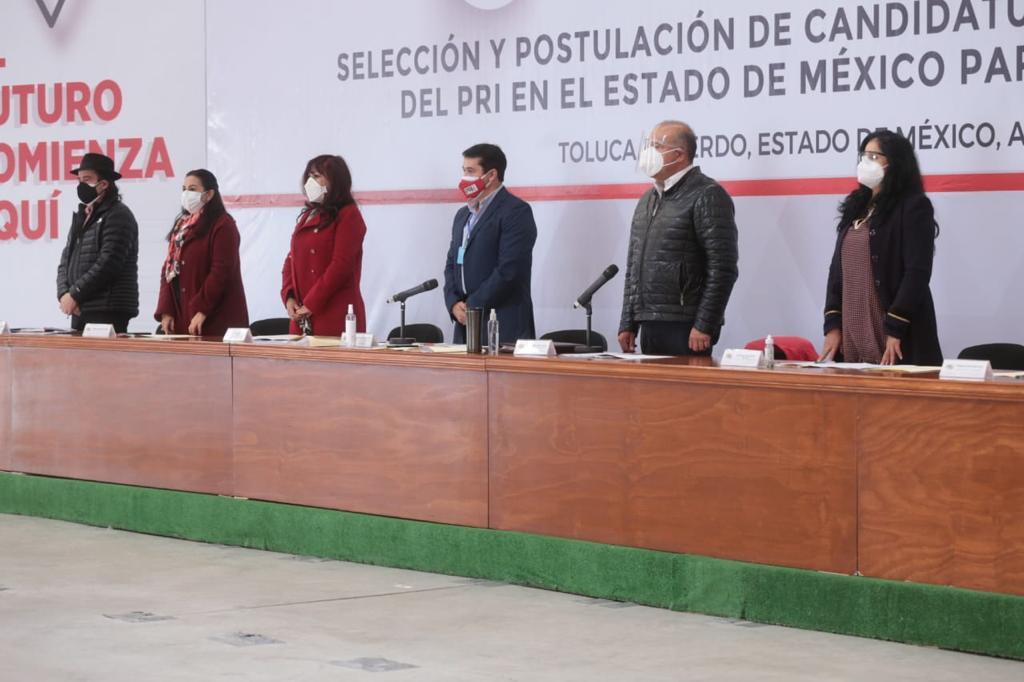 SE PRERREGISTRAN 33 ASPIRANTES A DIPUTADOS FEDERALES POR EL PRI ESTADO DE MÉXICO