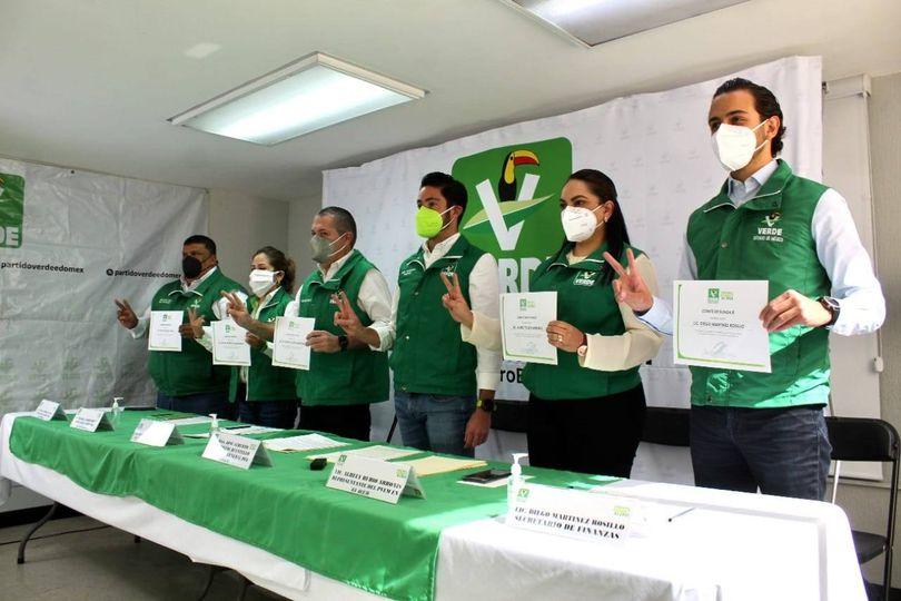 Lanza PVEM Edomex comité para blindar selección de candidatos