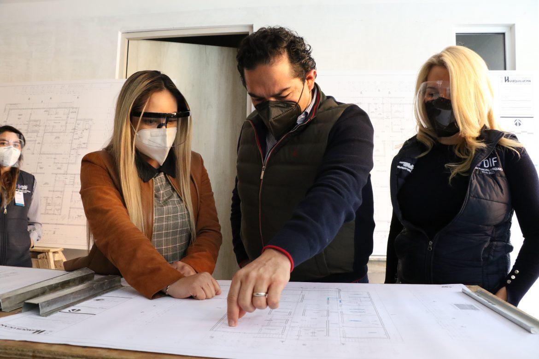 SUPERVISAN CONSTRUCCIÓN DE HOSPITAL MUNICIPAL EN HUIXQUILUCAN