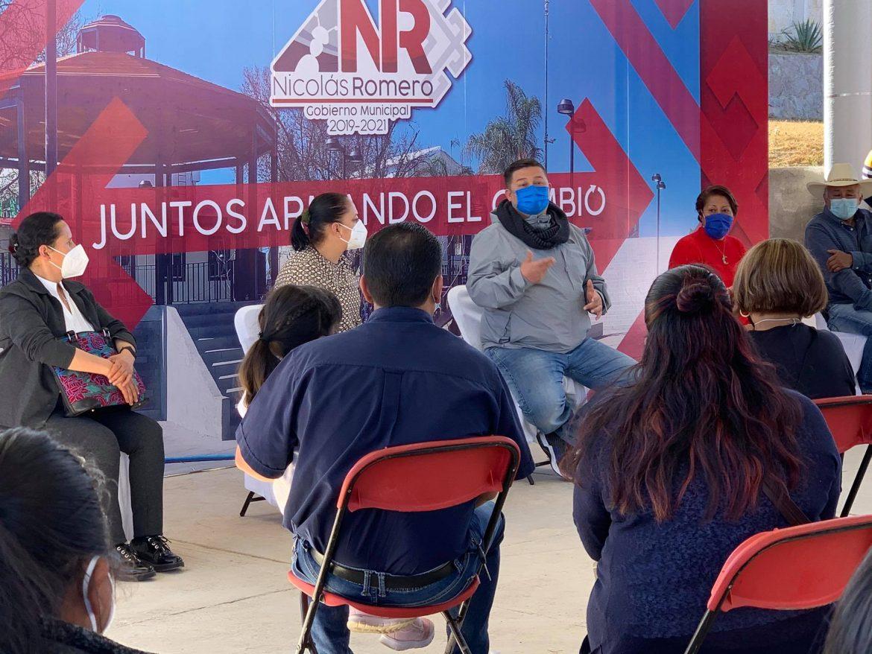SUPERVISA ALCALDE EL AVANCE DE OBRAS Y EXHORTA A CIUDADANOS PARTICIPAR PARA MEJORAR COMUNIDADES