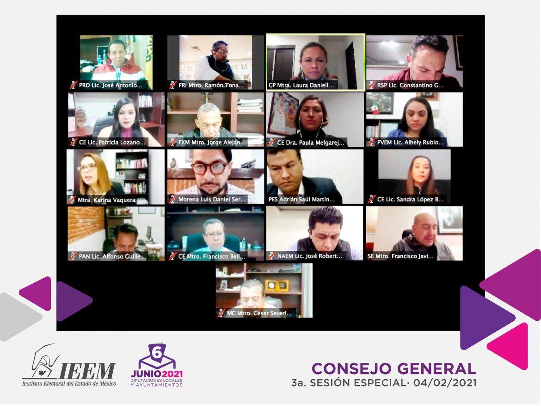 APRUEBA CONSEJO GENERAL DEL IEEM 9 ASPIRANTES A CANDIDATURAS INDEPENDIENTES PARA PRESIDENCIAS MUNICIPALES