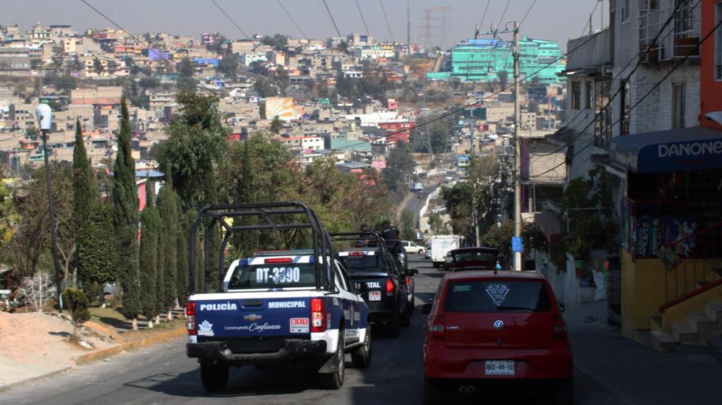 Realiza Policía de Naucalpan operativo en San Rafael Chamapa
