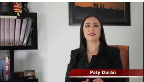 PATY DURAN SE REGISTRA EN EL PROCESO DE SELECCION DE CANDIDATOS DE MORENA POR EL MUNICIPIO DE NAUCALPAN