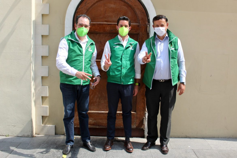 Gonzalo Alarcón se adhiere al proyecto del Partido Verde en Edomex.
