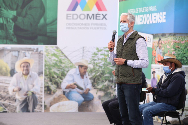 ES UNA PRIORIDAD PARA LA ADMINISTRACIÓN MEXIQUENSE EL IMPULSO Y FORTALECIMIENTO DEL CAMPO: ALFREDO DEL MAZO