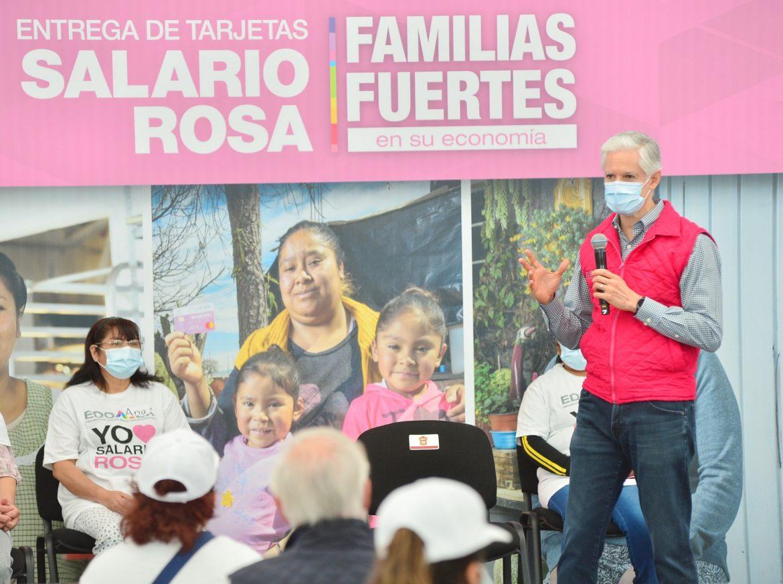 EL SALARIO ROSA ES UN APOYO IMPORTANTE PARA LAS FAMILIAS MEXIQUENSES DURANTE LA PANDEMIA: ALFREDO DEL MAZO