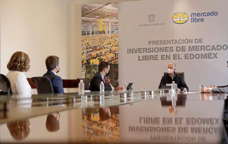 SOSTIENE ENCUENTRO GOBERNADOR MEXIQUENSE CON EMPRESARIOS DE LA COMPAÑÍA MERCADO LIBRE