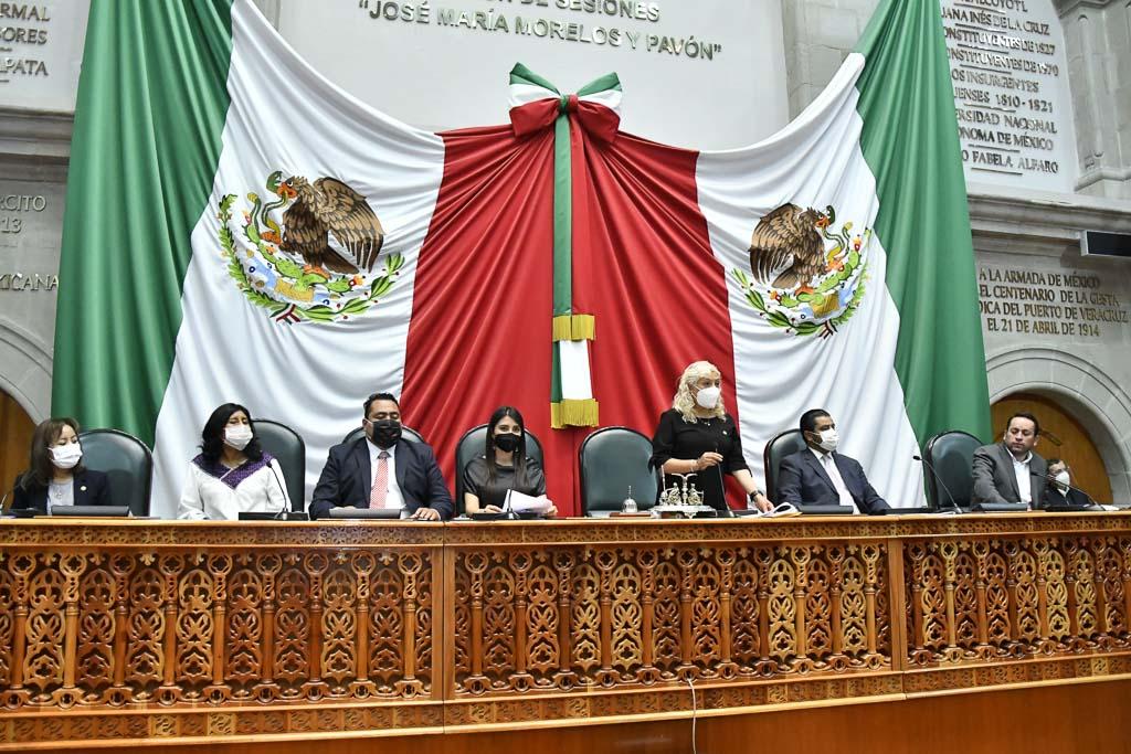 Instalan Diputación Permanente del Congreso estatal