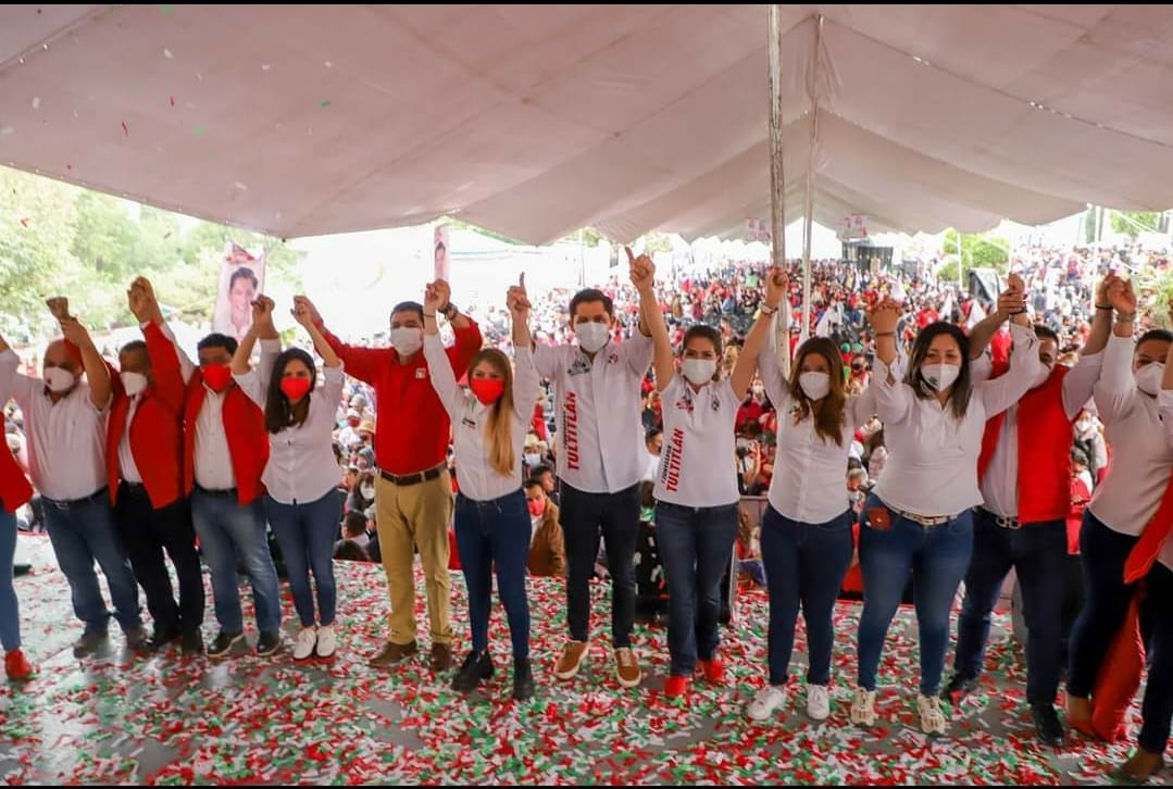 Arranca Adán Barón Elizalde campaña para alcaldía municipal de Tultitlán.