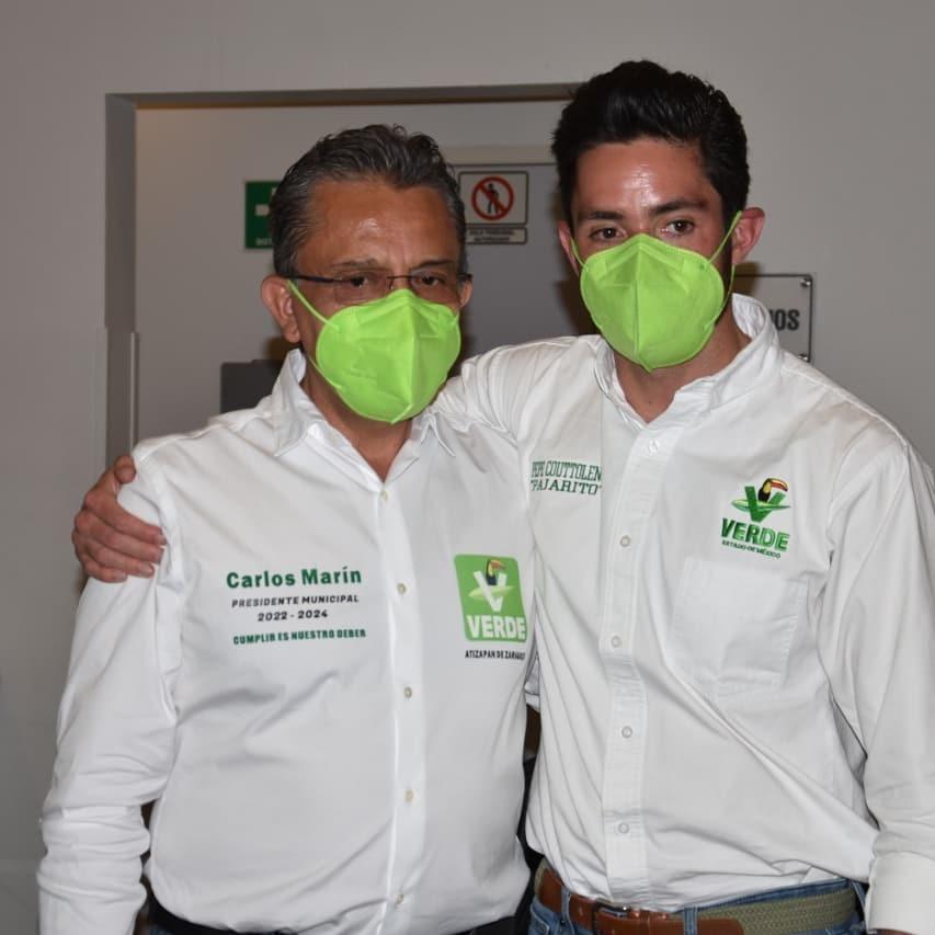Con Marín y Alarcón, garantizado triunfo  del PVEM en Atizapán de Zaragoza