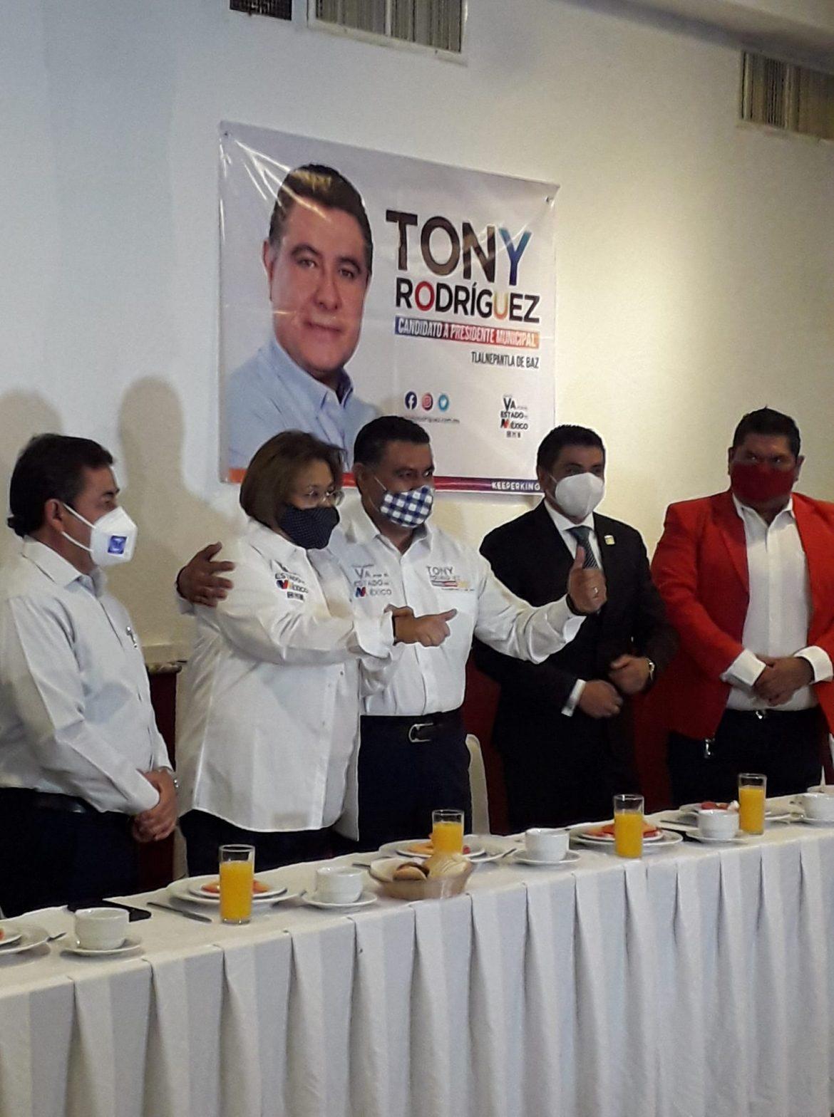 Nueva Alianza no va con morena y sí con Tony