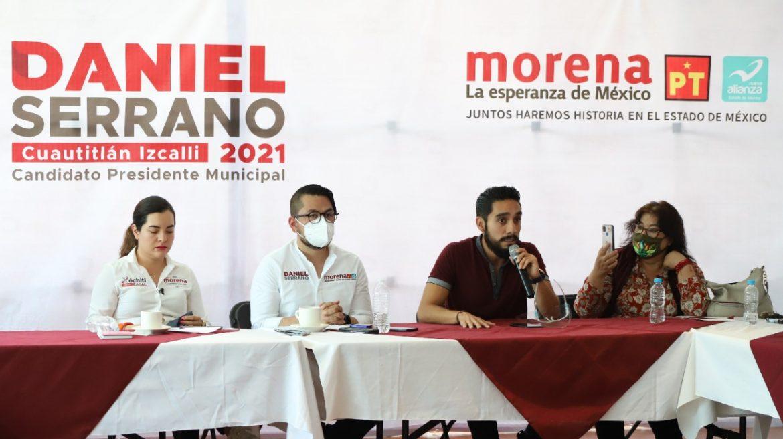 EXCANDIDATO INDEPENDIENTE Y LIDERAZGOS DE LA SOCIEDAD CIVIL ORGANIZADA SE SUMAN AL PROYECTO DE DANIEL SERRANO