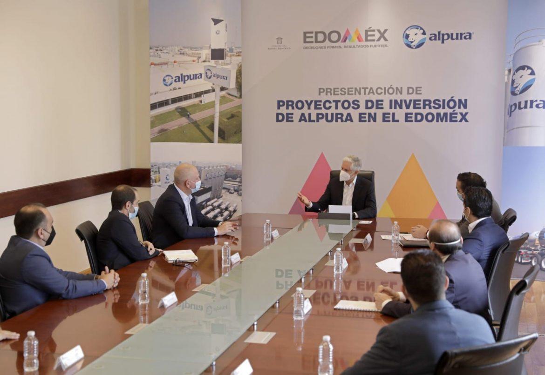 SUBRAYA ALFREDO DEL MAZO INVERSIÓN SUPERIOR A MIL 500 MDP DE ALPURA EN TERRITORIO MEXIQUENSE