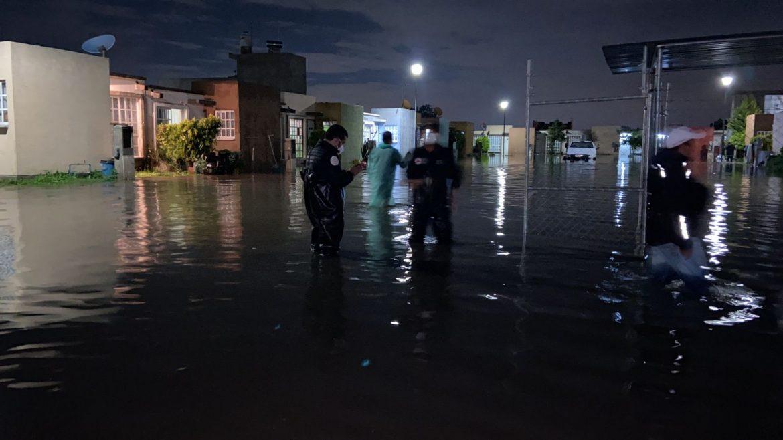 REGISTRAN AFECTACIONES EN ZUMPANGO A CAUSA DE LAS LLUVIAS