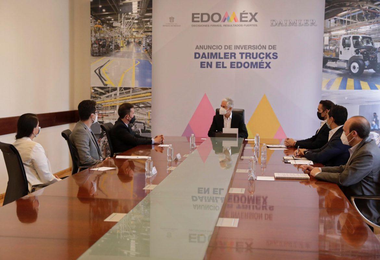 INFORMA ALFREDO DEL MAZO INVERSIÓN DE LA EMPRESA DAIMLER TRUCKS EN SU PLANTA DE TIANGUISTENCO