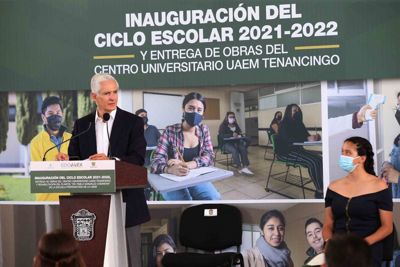 LLAMA ALFREDO DEL MAZO A MANTENER MEDIDAS SANITARIAS PREVENTIVAS Y ACUDIR A VACUNARSE PARA FRENAR CONTAGIOS DE COVID-19 EN EL EDOMÉX
