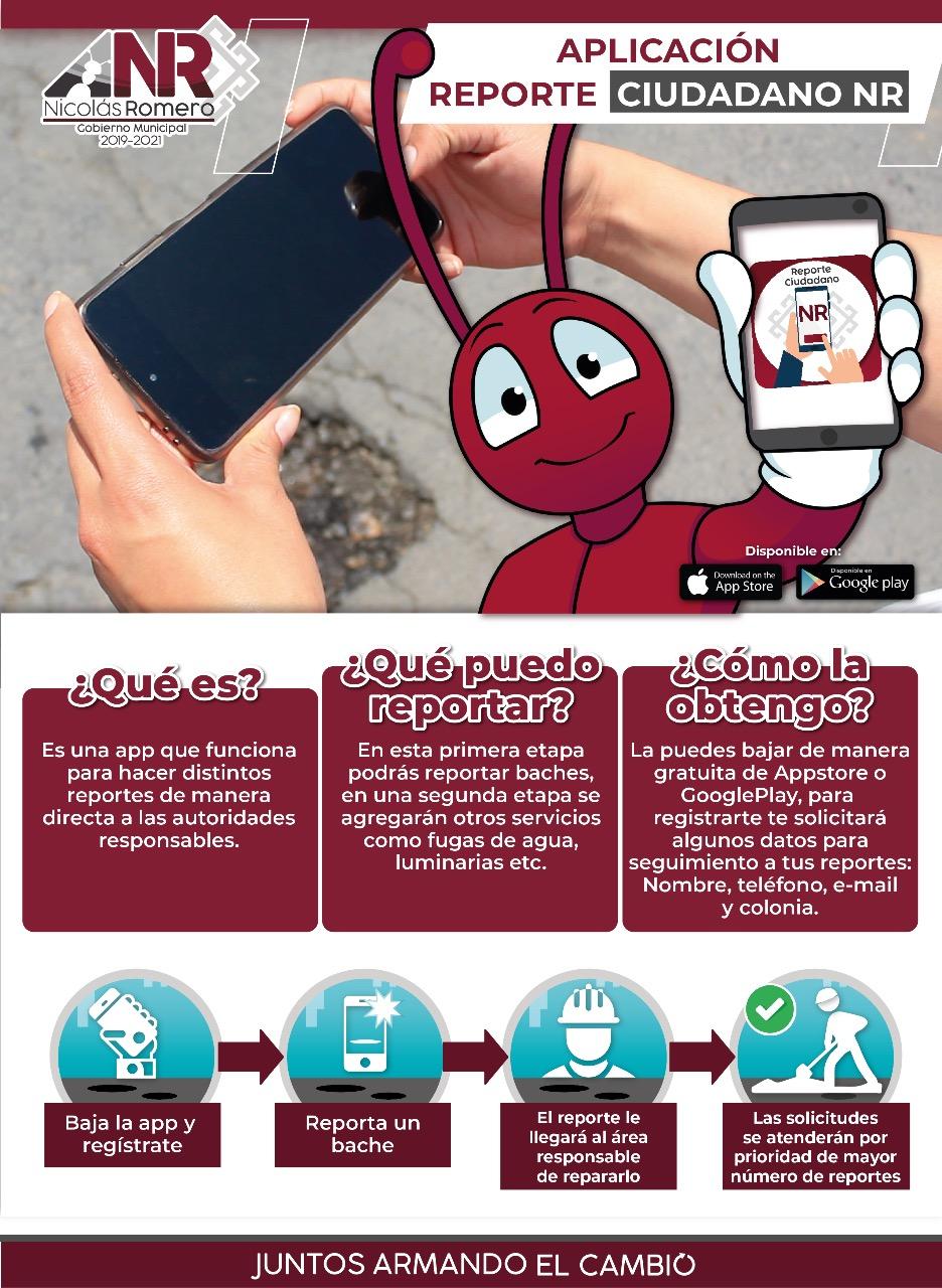 PRESENTA EDIL ARMANDO NAVARRETE INNOVADORA HERRAMIENTA DIGITAL PARA REPORTAR LOS BACHES