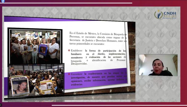 SON FAMILIAS DE PERSONAS DESAPARECIDAS PARTE ACTIVA EN PROCESOS DE BÚSQUEDA EN EDOMÉX