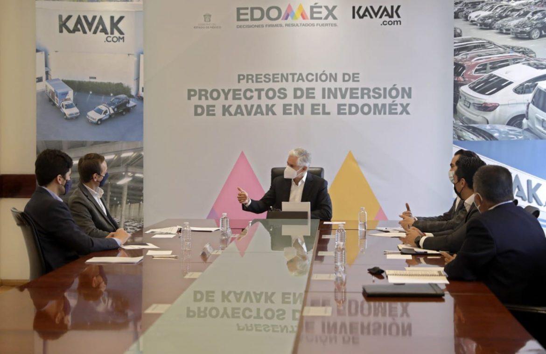 INFORMA ALFREDO DEL MAZO INVERSIÓN POR MÁS DE 2 MIL MILLONES DE PESOS DE KAVAK EN EDOMÉX