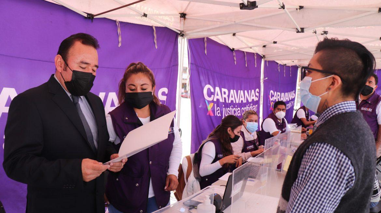 REGISTRAN PRIMER RECONOCIMIENTO DE IDENTIDAD DE GÉNERO EN CARAVANAS POR LA JUSTICIA COTIDIANA