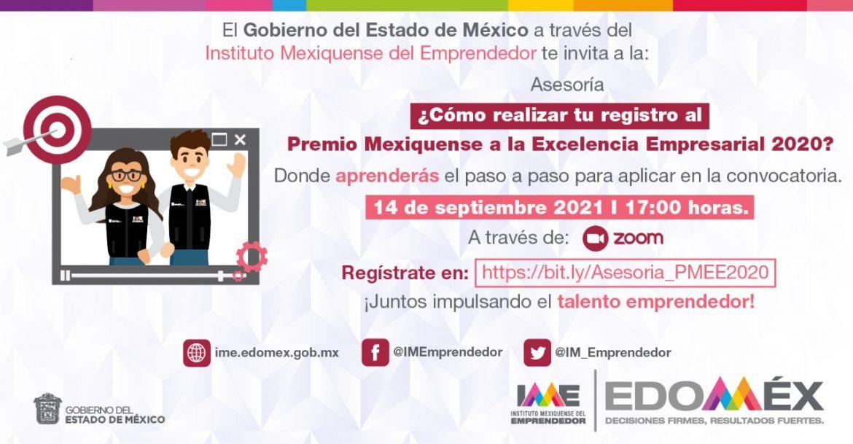 MANTIENE GEM ABIERTA LA CONVOCATORIA PARA PARTICIPAR POR EL PREMIO MEXIQUENSE A LA EXCELENCIA EMPRESARIAL 2020